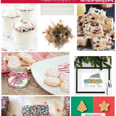 Linkup Party: Inspiration Spotlight Party 224 Crafts, DIY, Home Decor, Recipes & More!