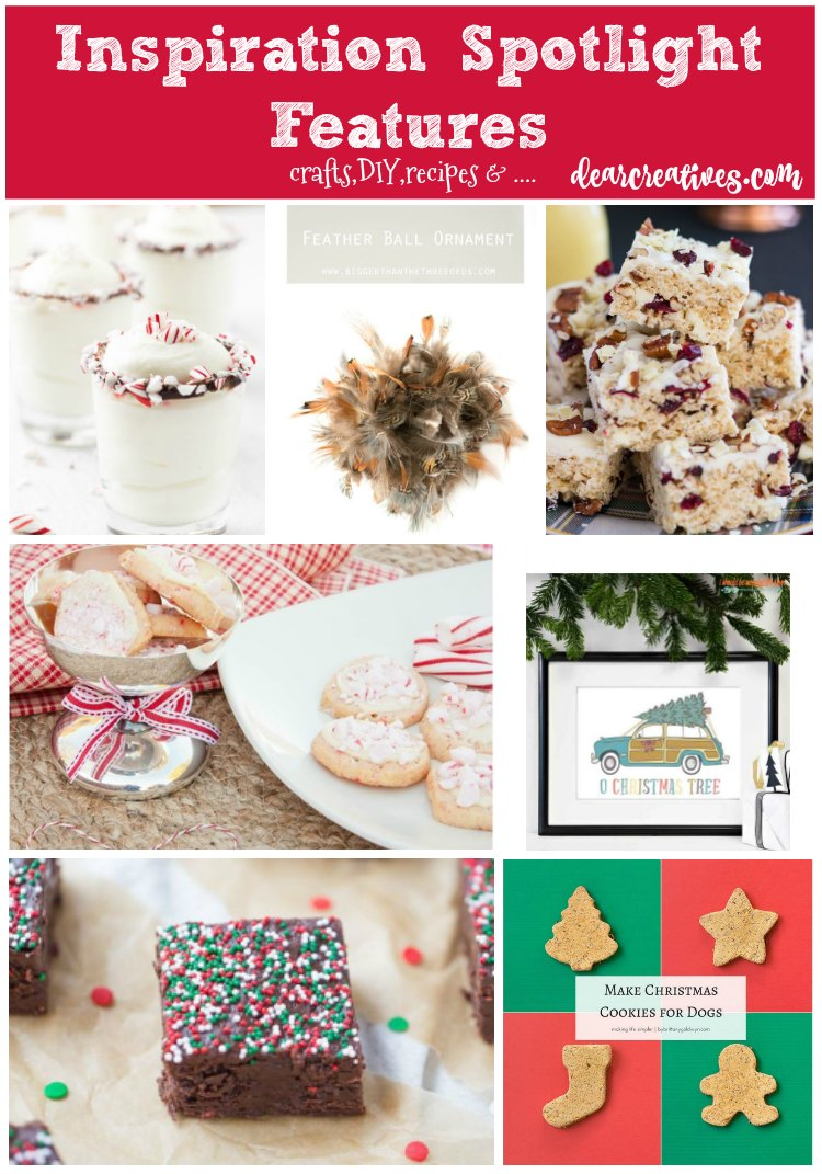 Linkup Party: Inspiration Spotlight Party 224 Crafts, DIY, Home Decor, Recipes & More!
