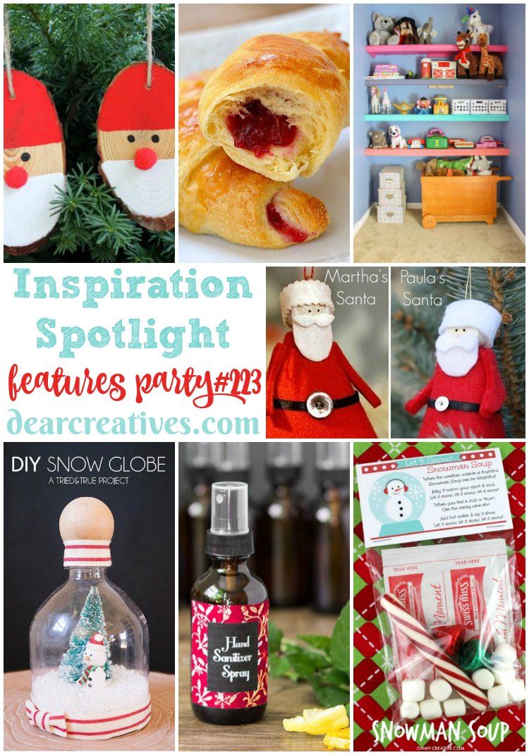 Linkup Party Inspiration Spotlight Party 223 Crafts, DIY, Recipes & More!