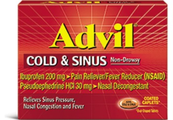 Stay healthy Cold & Sinus Non Drowsy