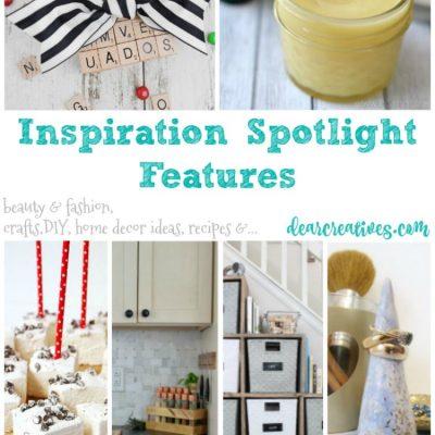 Linkup Party Inspiration Spotlight Party 229 Crafts, DIY, Recipes & more!