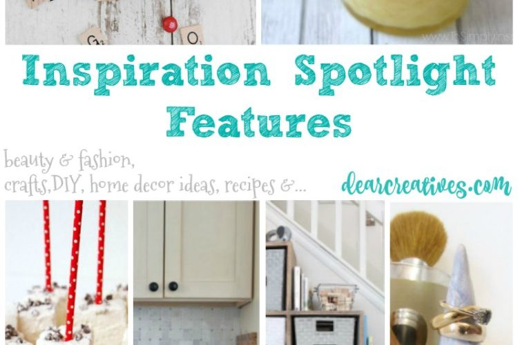 Linkup Party Inspiration Spotlight Features 229 beauty, fashion, crafts, DIY, home decor, recipes and more