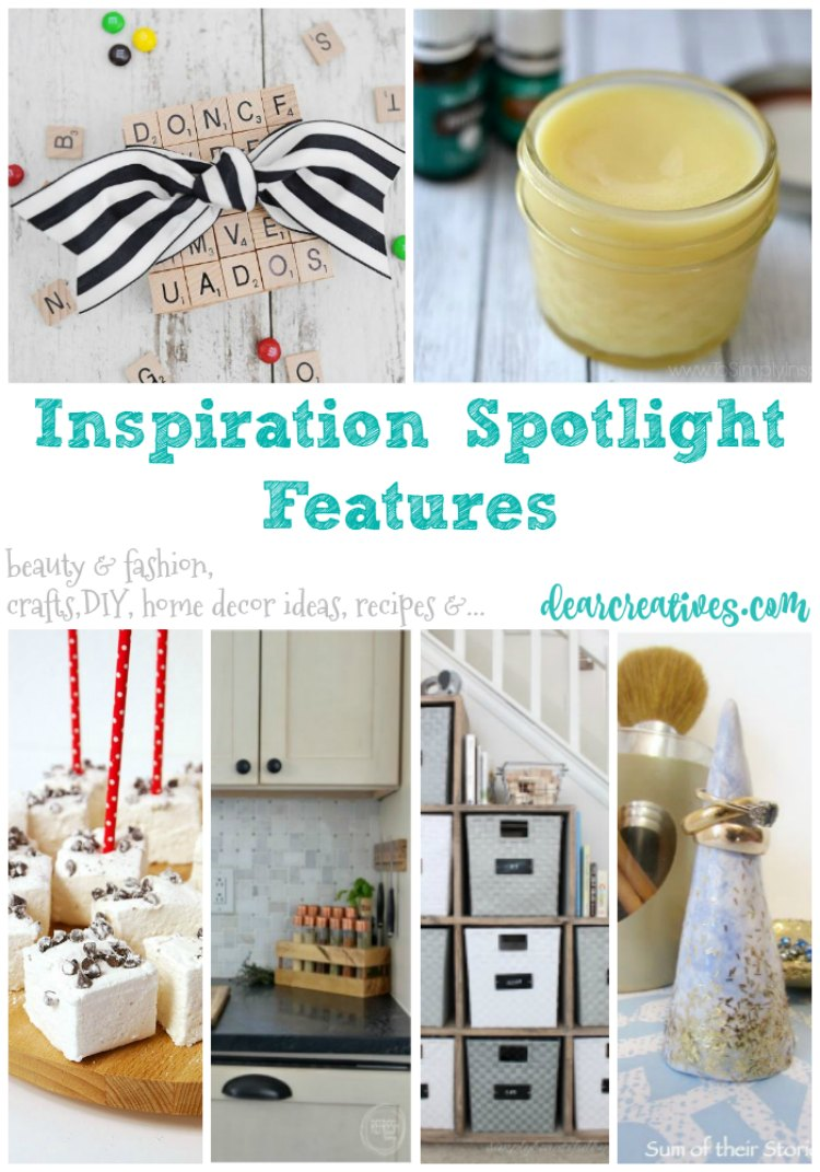 Linkup Party Inspiration Spotlight Party 229 Crafts, DIY, Recipes & more!