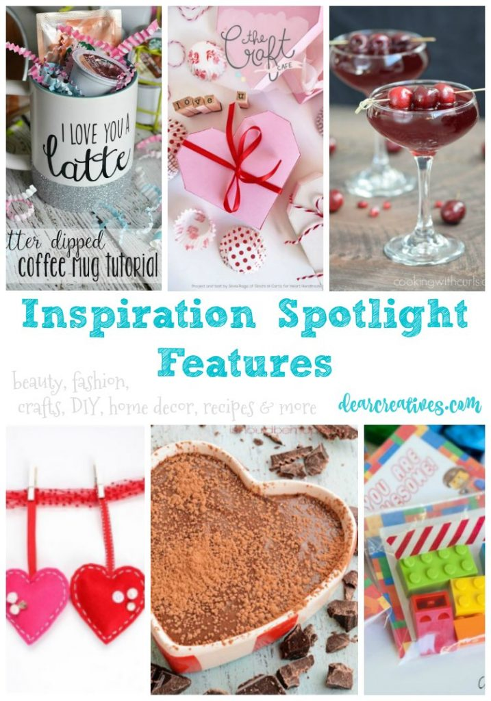 linkup party Inspiration Spotlight party 230 beauty, crafts, DIY, home decor, fashion, recipes and more!