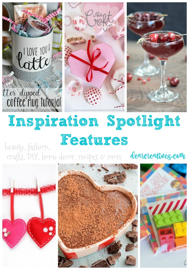 Linkup Party Inspiration Spotlight Party 230 Crafts, DIY, Recipes & more!