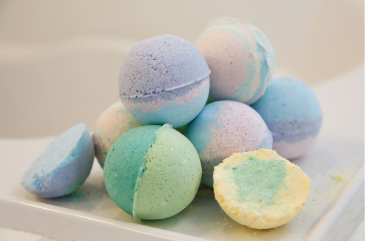 DIY craft supplies for Bath bombs