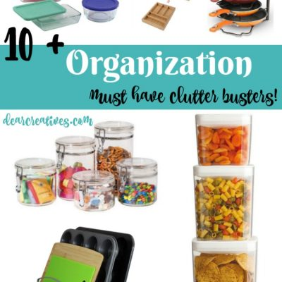 10+ Organization Must Have Clutter Busters For The Kitchen Pantry