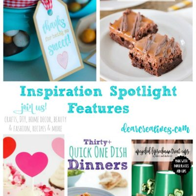 Linkup Party Inspiration Spotlight Party 232 Crafts, DIY, Recipes & More!