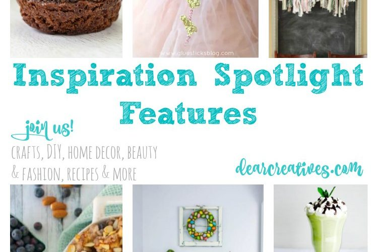 Linkup Party: Inspiration Spotlight Linkup Party 234 Crafts, DIY, home decor ideas, beauty, fashion, recipes and more.