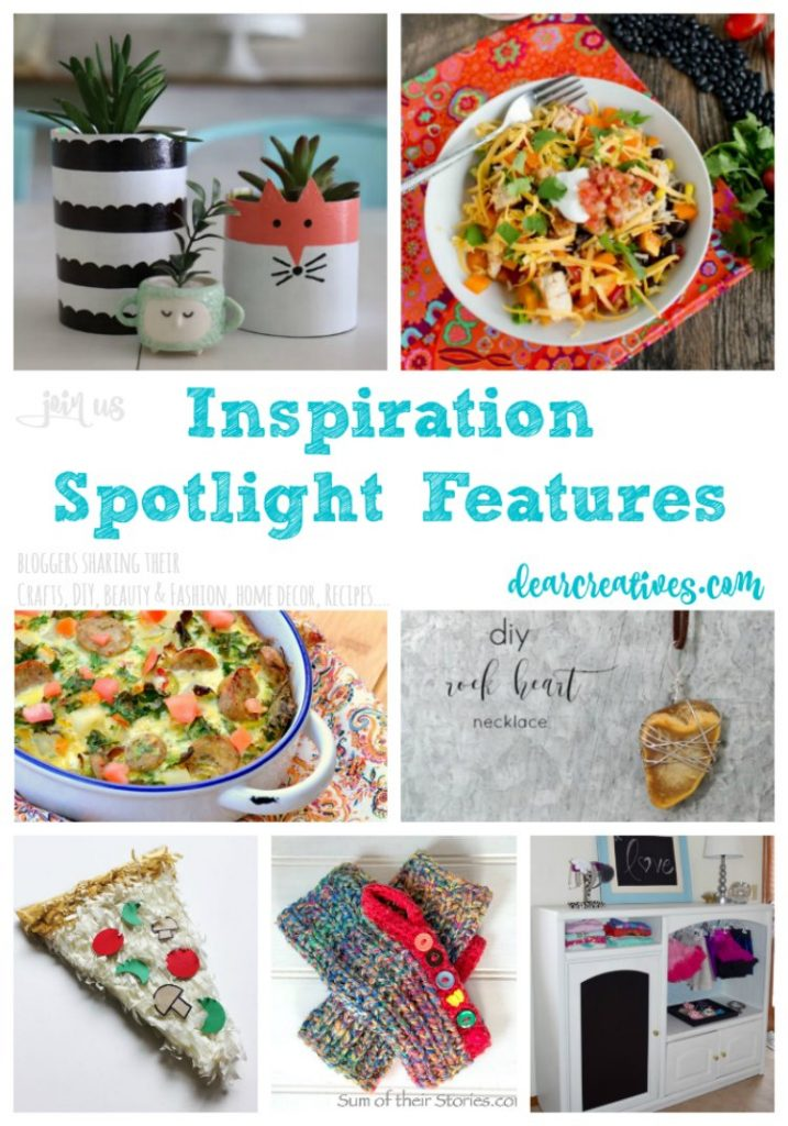 Linkup Party: Inspiration Spotlight Linkup Party 233 Crafts, DIY, home decor ideas, beauty, fashion, recipes and more.