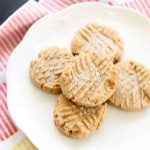 Peanut Butter Cookies Recipe Once Again Nut butters DearCreatives.com