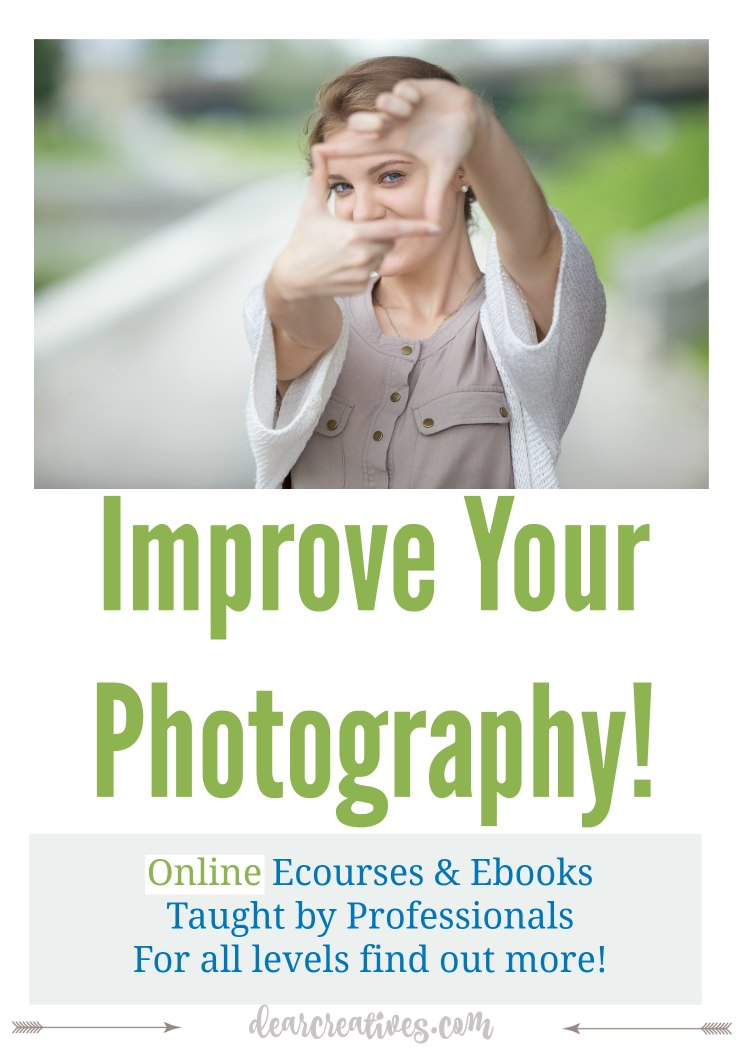 Photography Tips: E Courses And E Books To Help You Improve Your Photography!