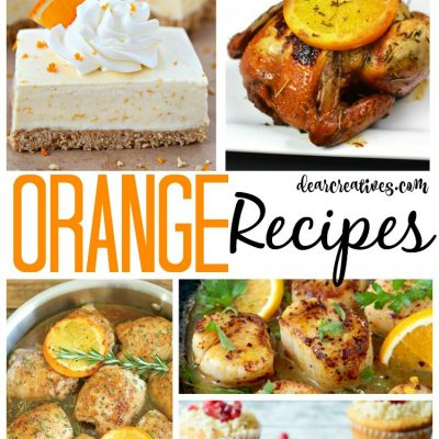 Recipes with orange. This is a roundup of oranges recipes for cooking and baking. You will enjoy making any of these delicious and easy orange recipes.