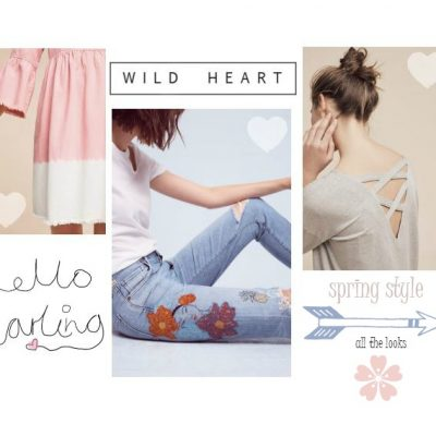 Hello Darling It's Almost Spring! Women's Fashions To Brighten Your Days