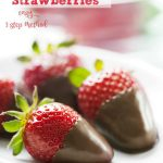 How to make chocolate dipped strawberries. Easy 3 step method to no fail chocolate strawberries. You'll love making and eating the chocolate dipped strawberries. - quickly and easily, plus tips for keeping them fresh. DearCreatives.com