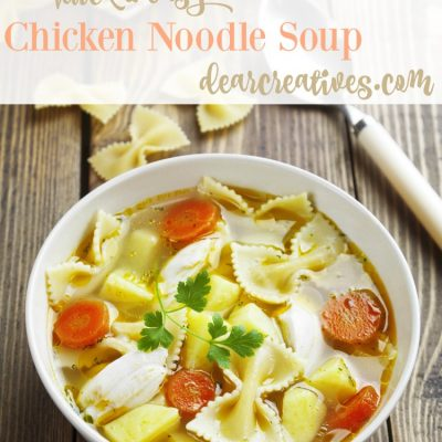 Quick And Easy Chicken Soup Recipe This Will Be A Hit Any Night Of The Week!