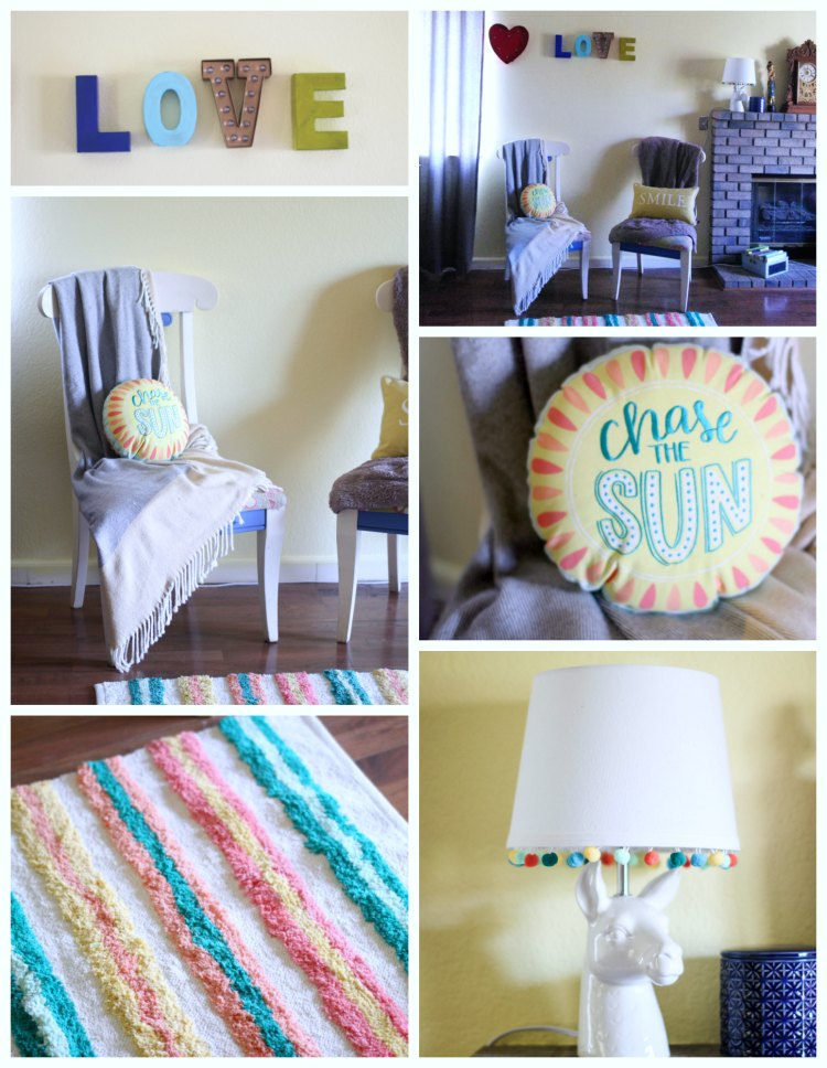 Color Inspiraiton Home decor ideas infusing color into your life. #livelovec