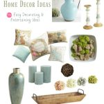 Home Decor Spring Easter Easy Ideas for decorating your home 11 + Easy decorating and entertaining ideas.