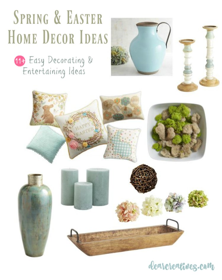 Home Decor How To Make Your Home Festive For Spring Easter 11 Easy Ideas