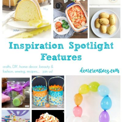 Linkup party Inspiration Spotlight party 237 bloggers sharing their favorite crafts, DIY, recipes, beauty and fashion.....
