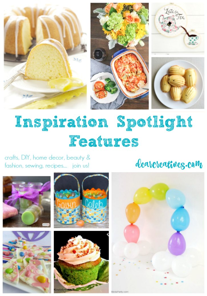 Linkup Party Inspiration Spotlight Party 237 Join Us! Crafts, DIY, Home Decor, Recipes And More