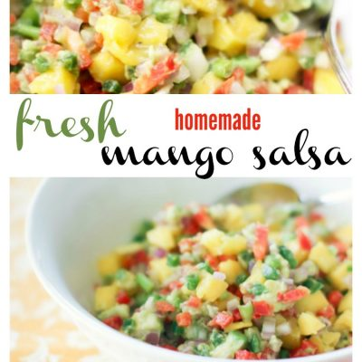 Mango Salsa Recipe Delicious And Easy : Use As An Appetizer, Topping For Tacos, Fish Or Chicken