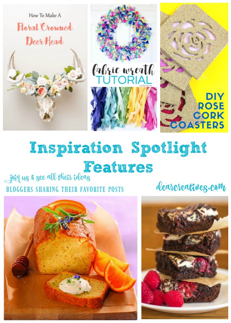 Linkup Party Inspiration Spotlight Party 243 Crafts, DIY, Home Décor, BB, Fashion, Recipes & More