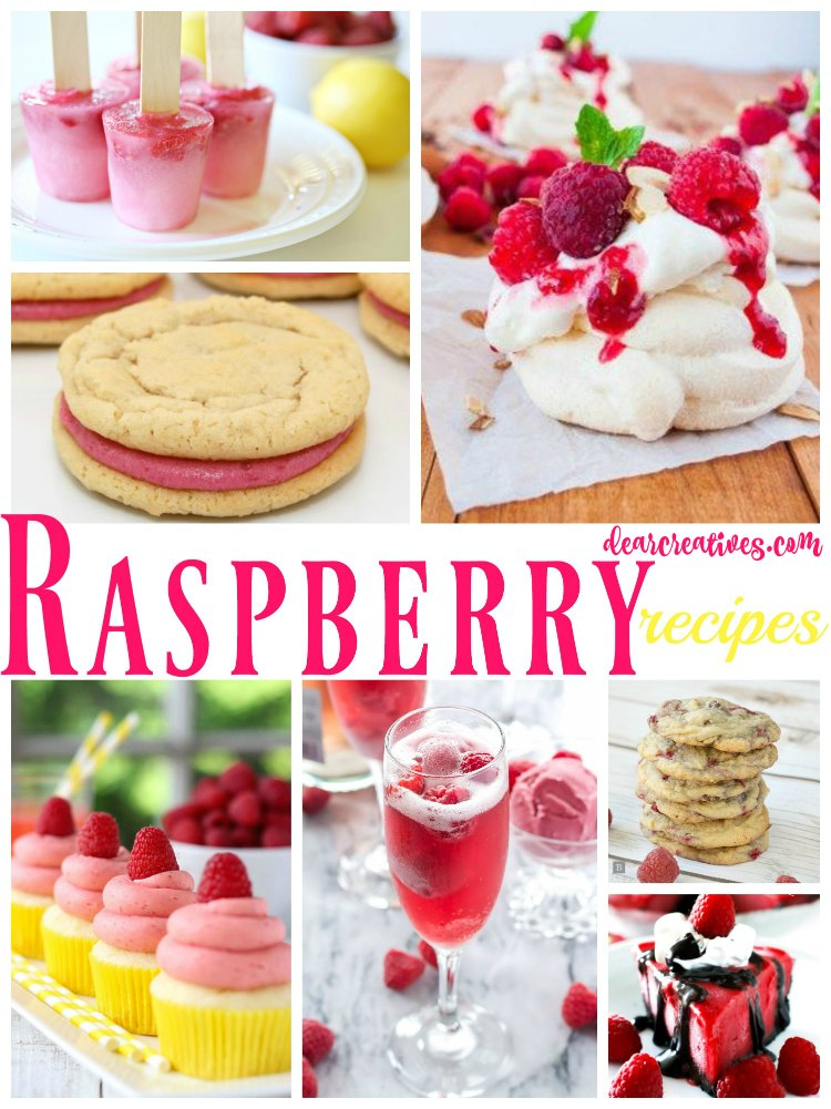 Raspberry Recipes Roundup 22+ Of The Best Raspberry Recipes You'll Love Trying!