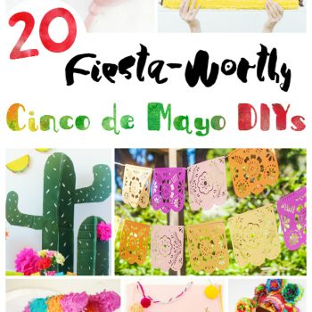 Fun and Easy DIYs Cinco de Mayo | The Best DIY Craft Projects Cinco de Mayo DIYs
