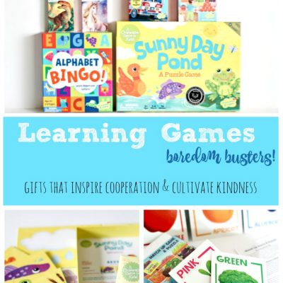 gift ideas kids games and cooperative games to cultivate kindness. Not only great for learning but, boredom busters.