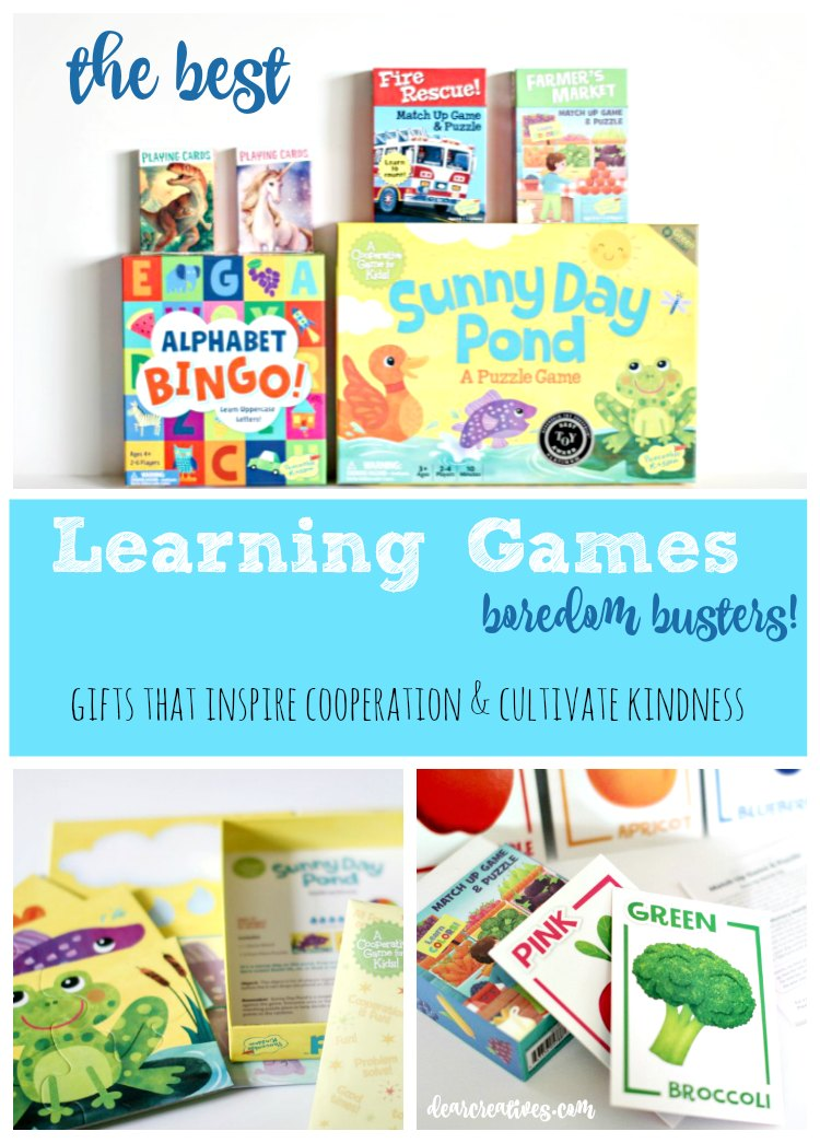 The Best Gift Ideas For Kids: Fun Learning Cooperative Games