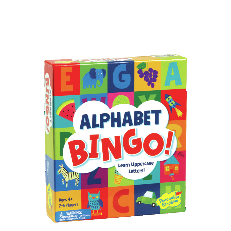 gift ideas for kids alphabet bingo