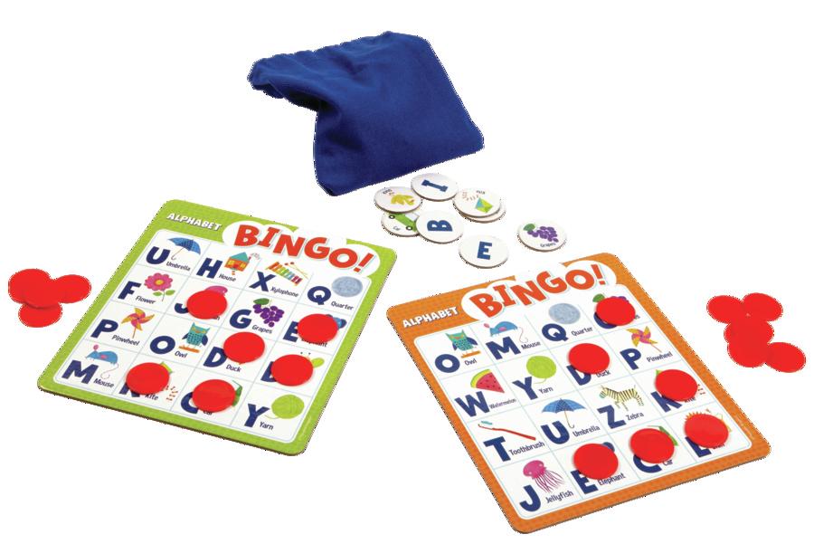 gift ideas for kids Alphabet Bingo learning game