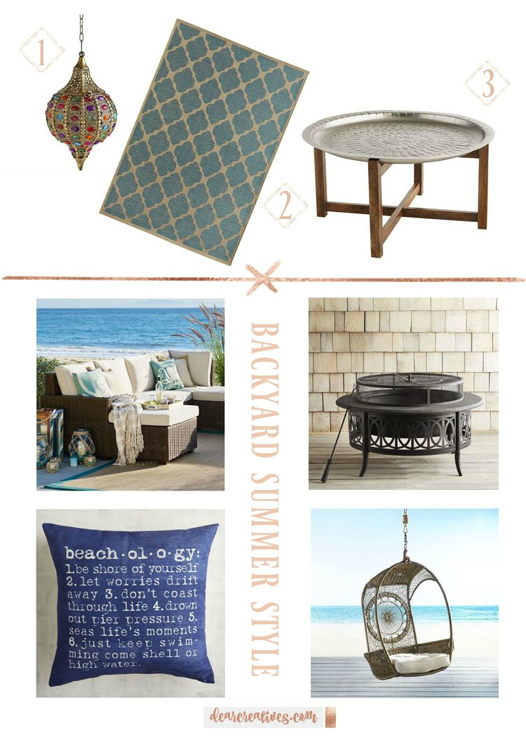 Backyard, Patio And Garden Summer Style Home Decor 6 Must Have Items!