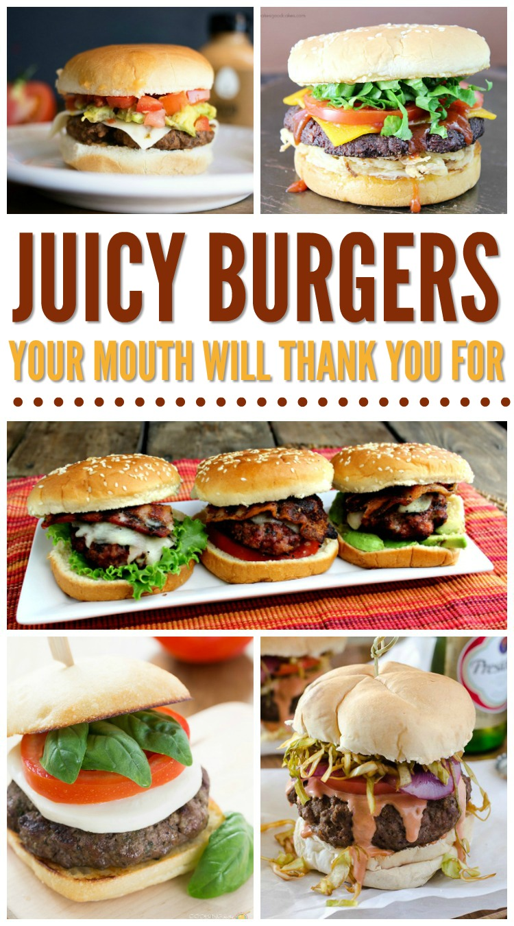 The Best Juicy Hamburger Recipes That Are So Grill Worthy! Must Try Recipes!