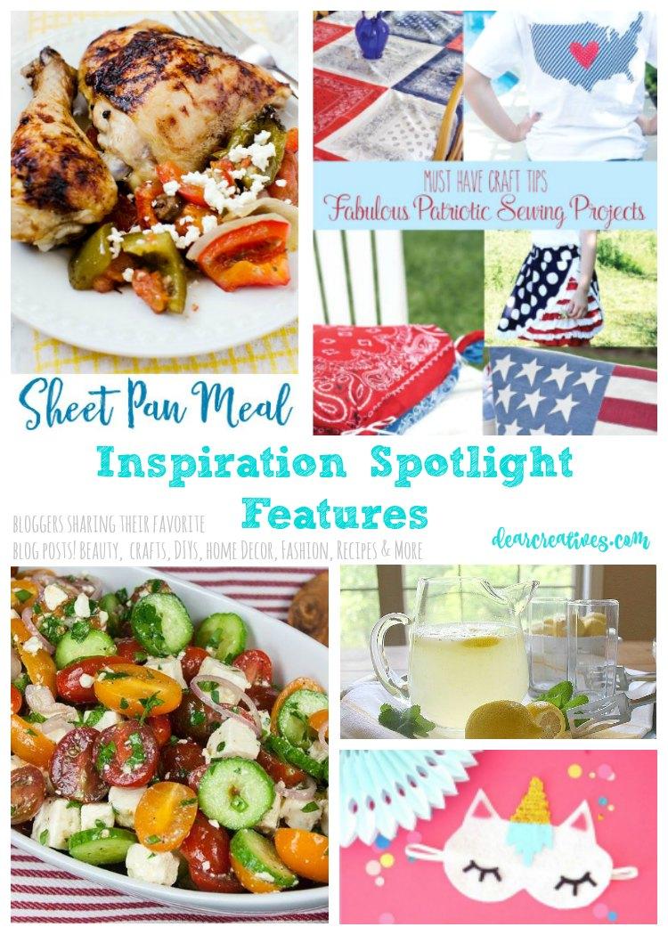 Inspiration Spotlight Linkup Party 247 Crafts, DIY, Home Decor, Recipes, Lifestyle