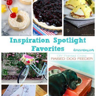 Inspiration Spotlight Linkup Party 245 Crafts, DIY, Home Decor, Recipes and More!