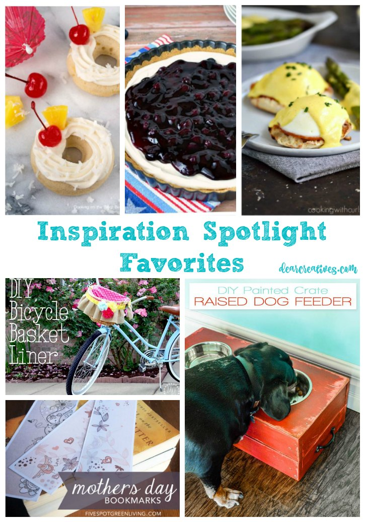 Inspiration Spotlight Linkup Party 245 Crafts, DIY, Home Decor, Recipes and More!