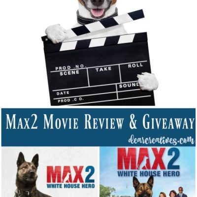 MAX2 White House Hero DVD Warner Bros. Review and Giveaway #ad