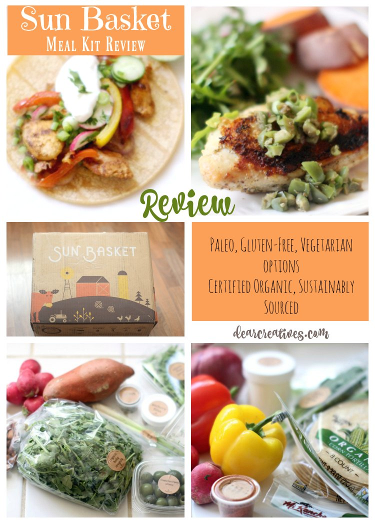 Sun Basket Meal Kit Delivery Review: Paleo, Vegetarian, Gluten Free Options