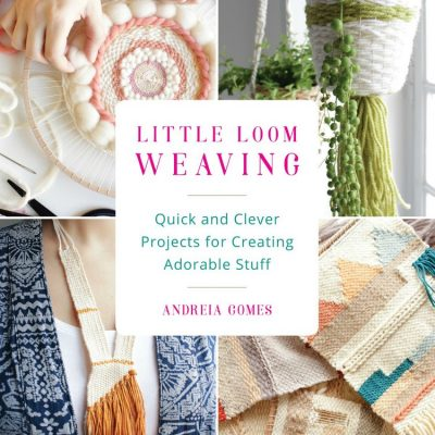 Little Loom Weaving Craft Book Review and Giveaway #ad
