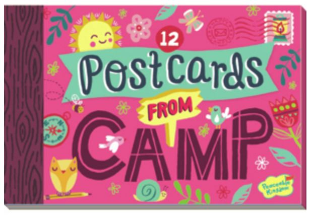 Fun stuff for the kids postcards to send from camp