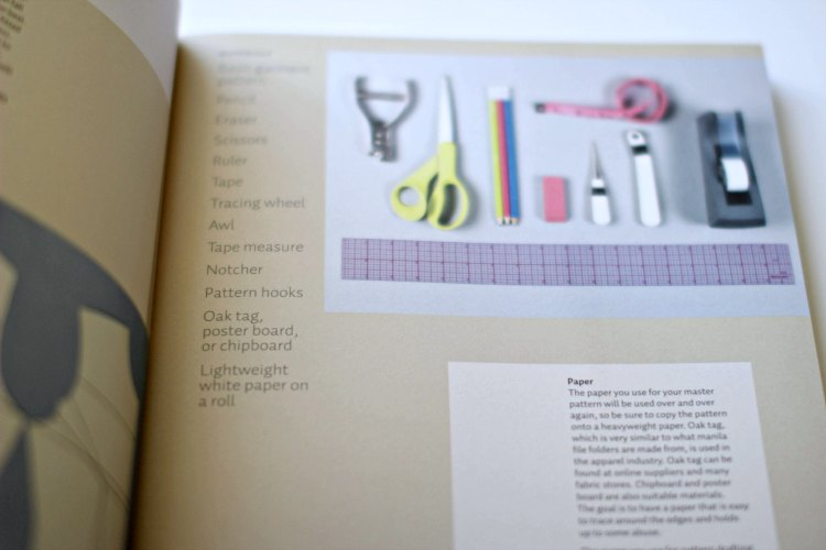 Sewing Book Review- Designing Clothes with the Flat Pattern Method - DearCreatives.com Basic sewing tools, sewing skills and this helpful book....