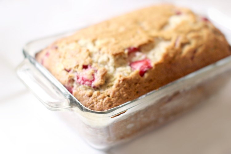 Strawberry Bread Recipe DearCreatives.com Strawberry Banana Bread This is an easy sweet bread recipe.