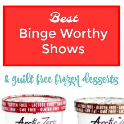 Arctic Zero Giveaway + Binge watching list #ad