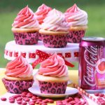 Cherry Coke Recipe cupcakes and frosting recipe. Great for serving cupcakes at your party.