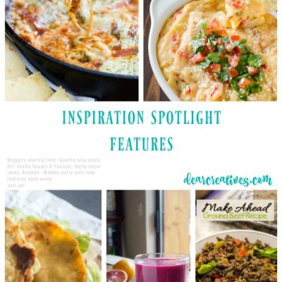 Linkup Party Inspiration Spotlight 253: Features Recipes And Bloggers Sharing Their Favorite Posts!
