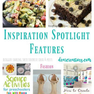 Inspiration Spotlight Linkup Party 255 Crafts, DIY, Recipes and more!