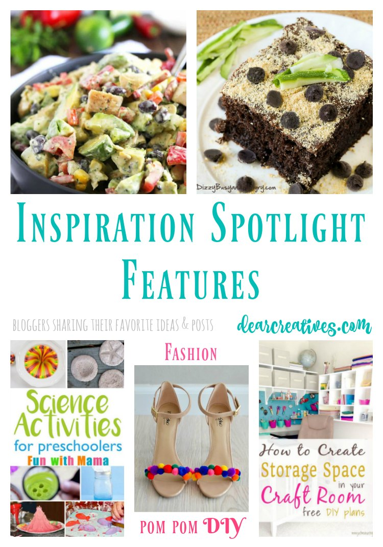 Linkup Party Inspiration Spotlight Bloggers sharing their favorite crafts, diy, home decor ideas, party ideas, beauty and fashion, recipes and more! Join us.