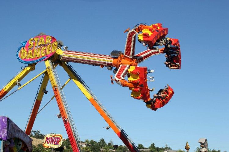 Mid State Fair -fair ride Star Dancer. DearCreatives.com